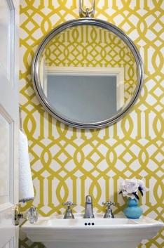 Tiny Bathroom Mirror
