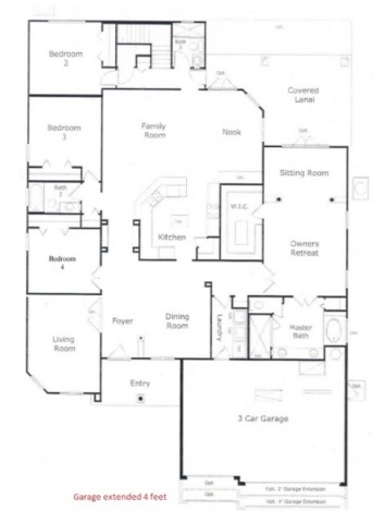 1st Floor Plan 14510 Starbuck Springs Way, Jacksonville, FL